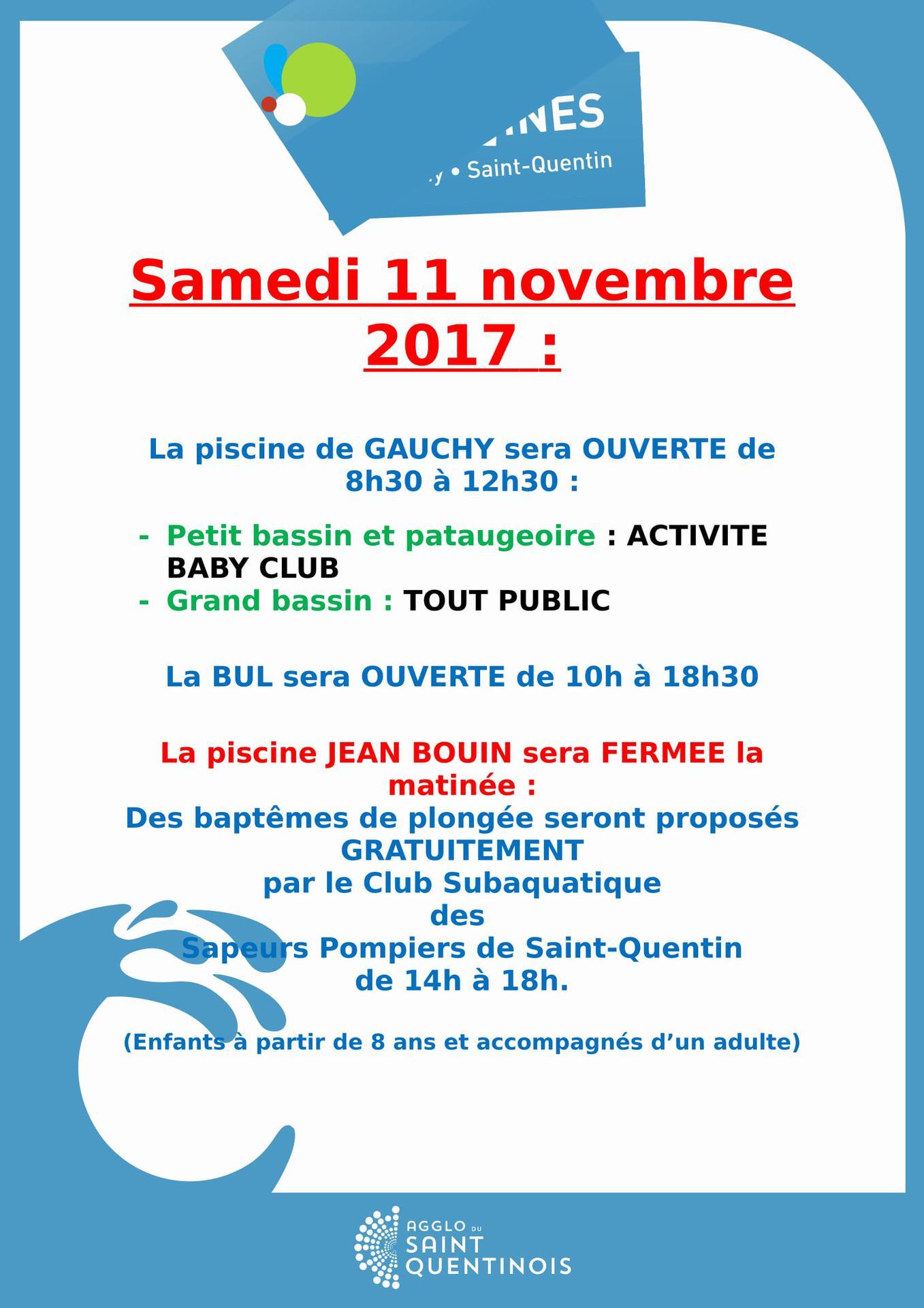 Piscines et la bul saint quentin site internet - Piscine jean bouin 02100 ...